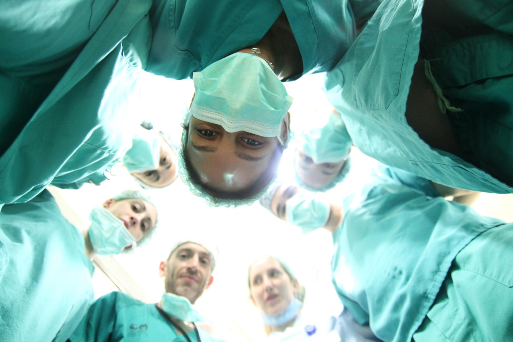 campaña de cirugía