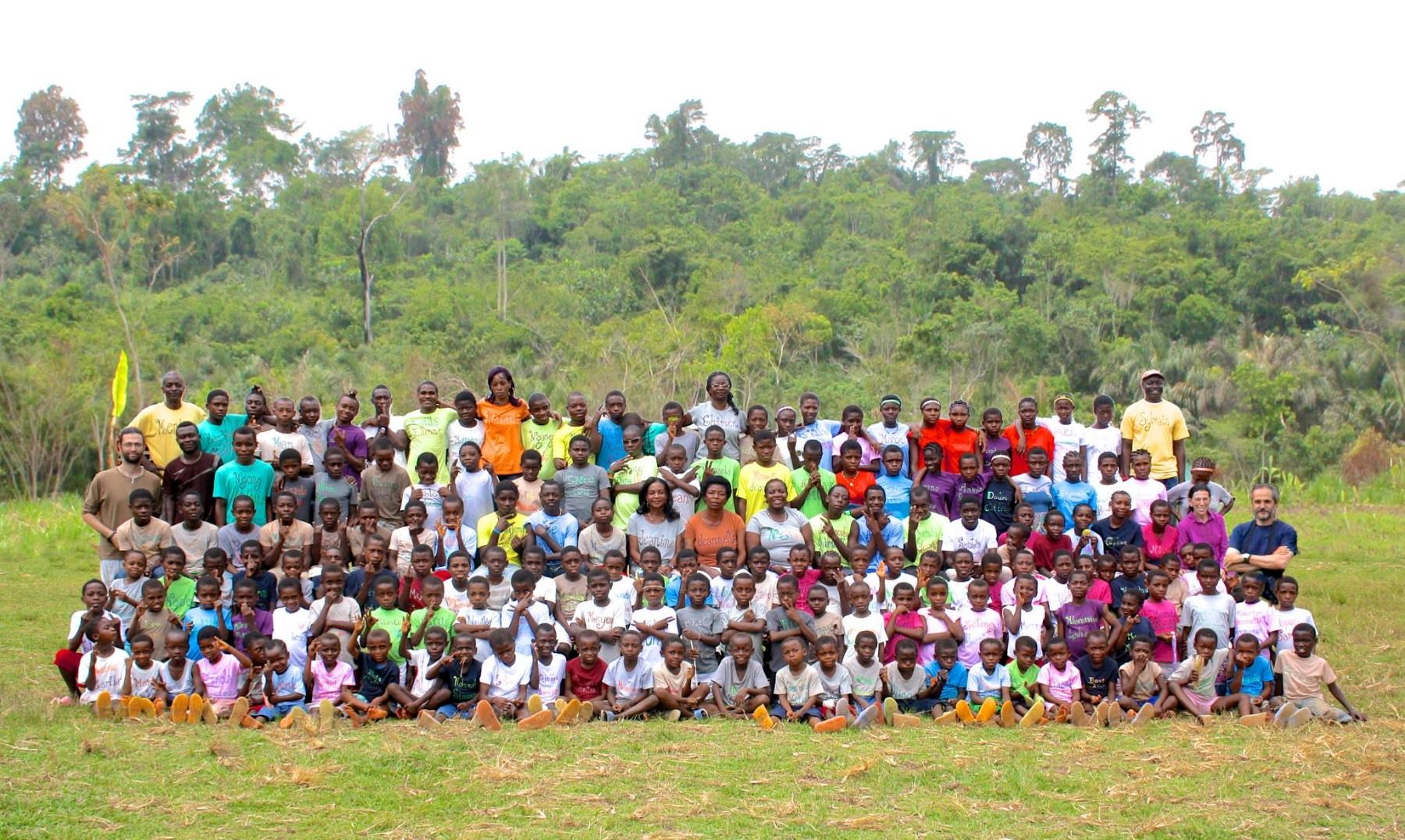 Colegio Bengbis. Camerún.