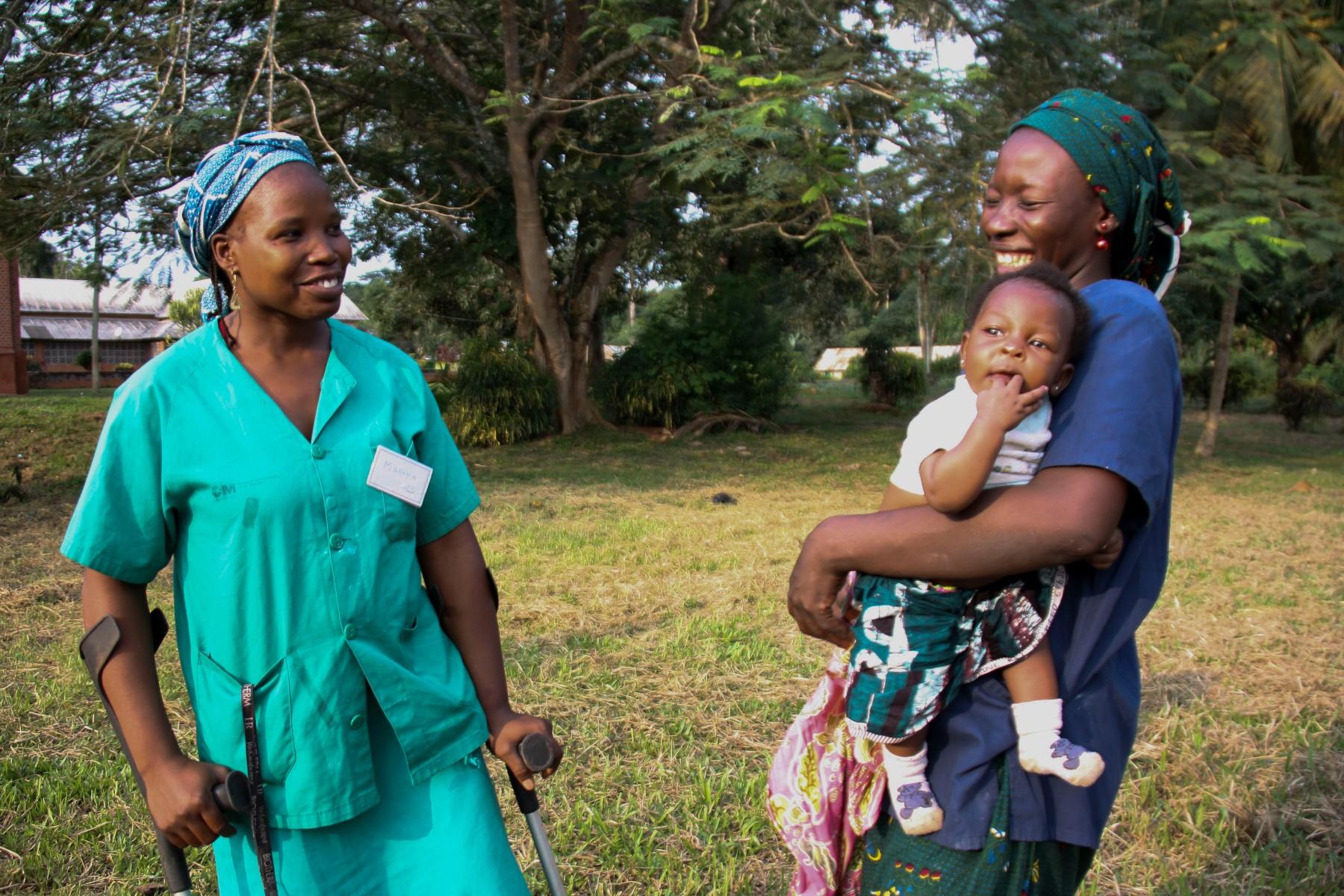 sonrisas refugiadas de camerún