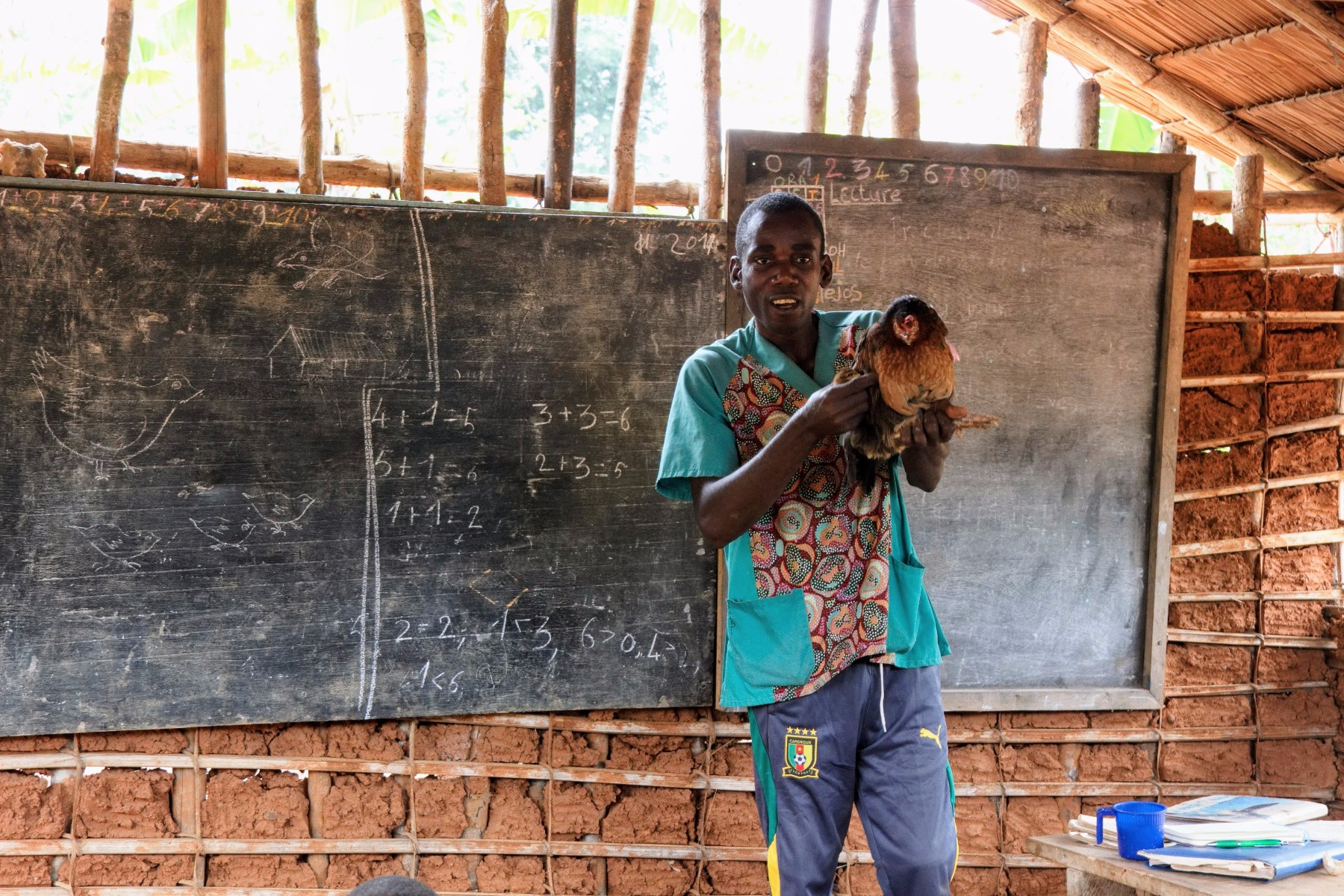 profesor sur de camerun