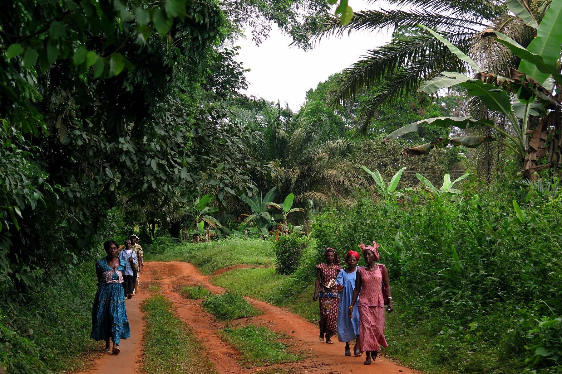 mujeres selva refugiados climáticos