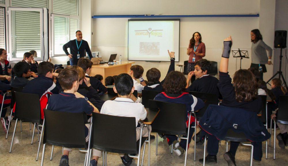 actividades solidarias en colegios