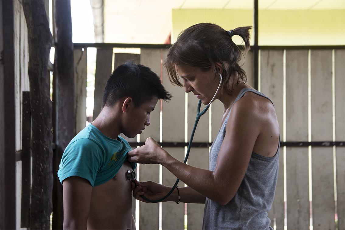 campaña de salud en perú