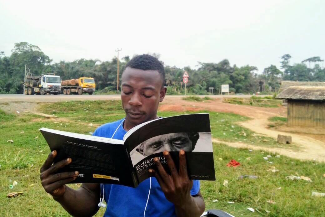 Pigmeo Baka del África Central