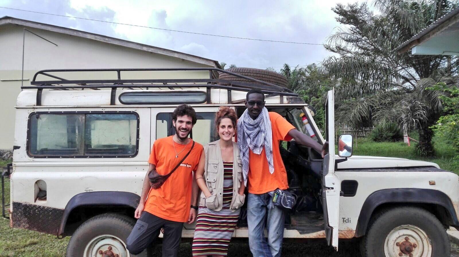 voluntarios de zerca y lejos