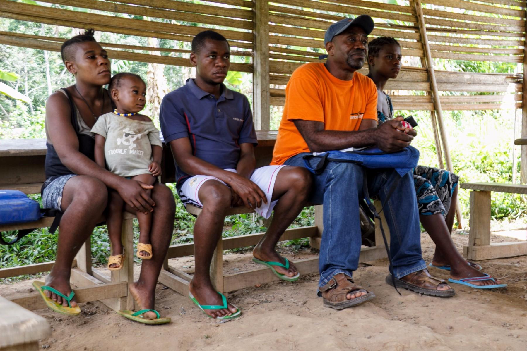 formación banco de semillas sur de Camerún