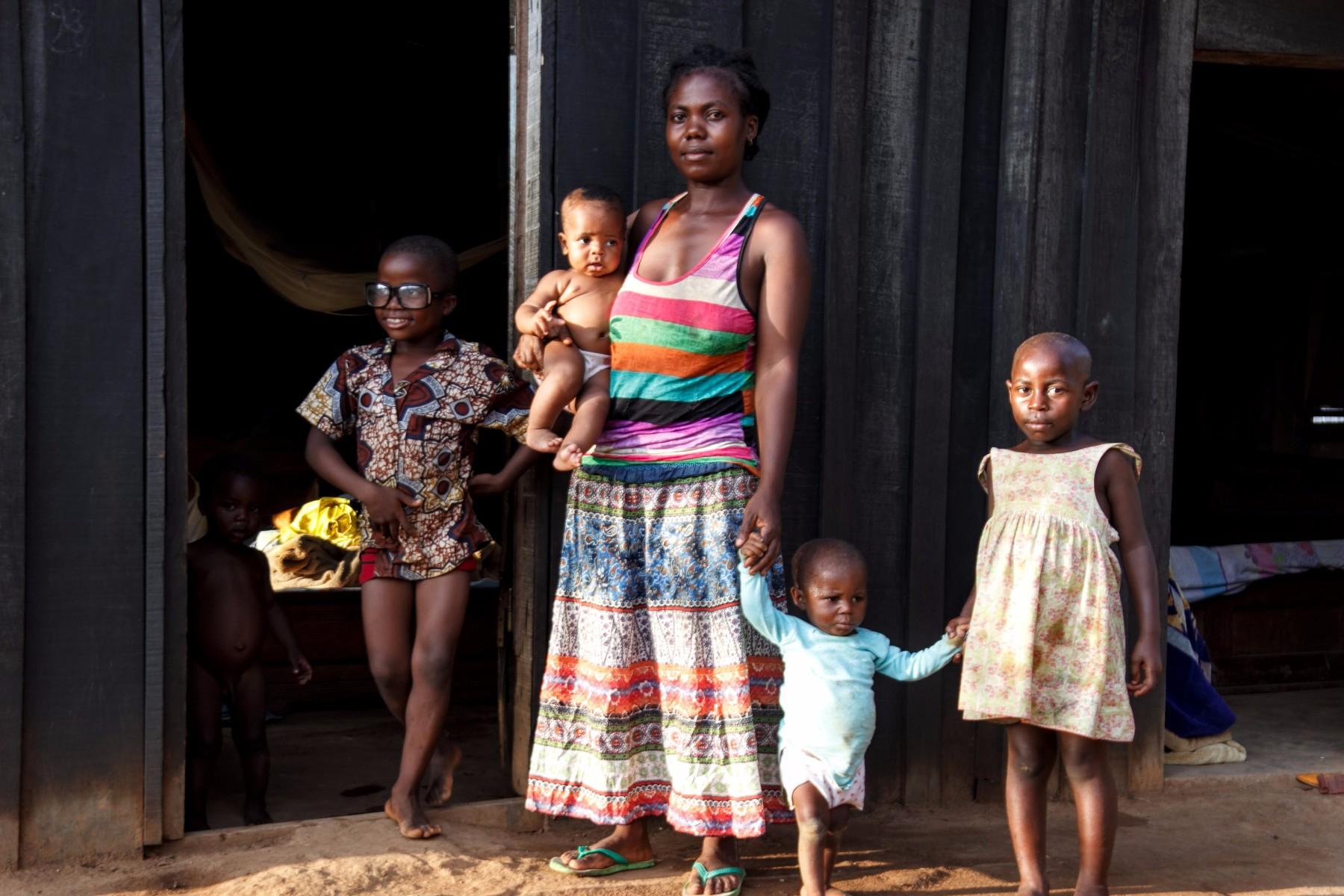 infancia en camerun
