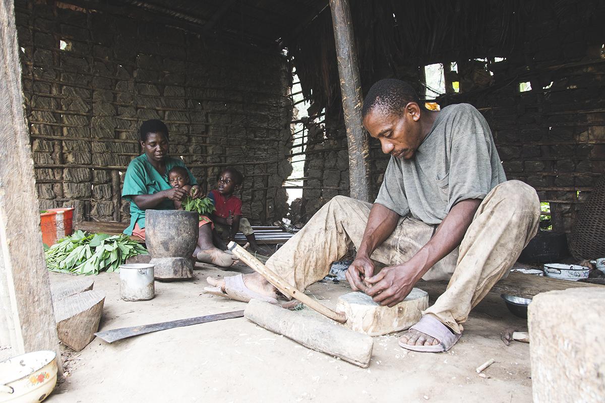 familia pigmea baka