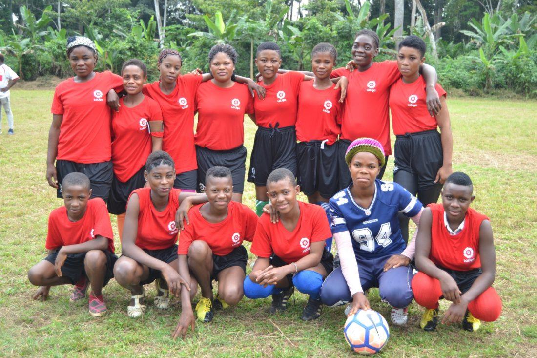 equipo femenino de fútbol