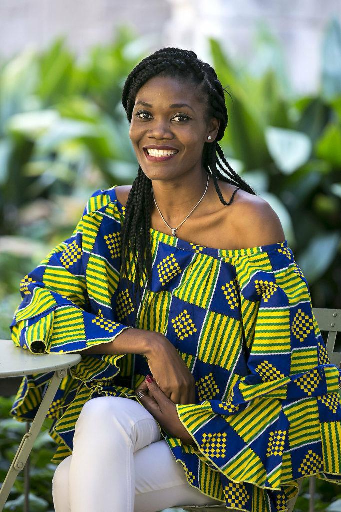 Sonia Mankongo, responsable de educación de Zerca y Lejos en Camerún